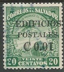 El Salvador || Scott # RA6 - Used  ©