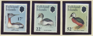 Falkland Islands Stamps Scott #408 To 410, Mint Never Hinged - Free U.S. Ship...