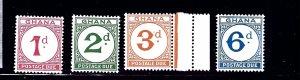 Ghana J11-14 MNH 1965 part set