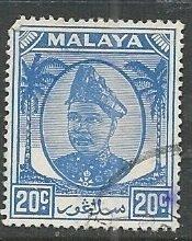 Malya - Selangor || Scott # 98 - Used ©