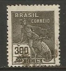 BRAZIL 279 VFU MERCURY C350 C