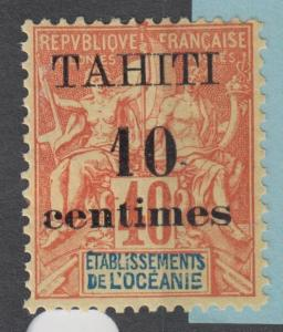 FRENCH TAHITI 31 MINT HINGED OG * NO FAULTS EXTRA FINE !