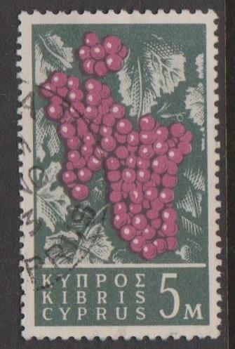 Cyprus Sc#207 Used