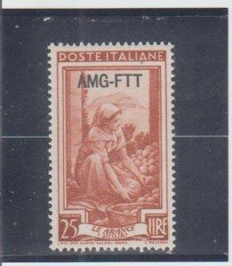Trieste  Scott#  99  MH  (1950 Overprinted)