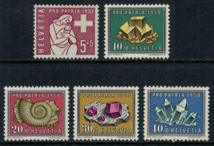 Switzerland #B272-6* NH  CV $8.20