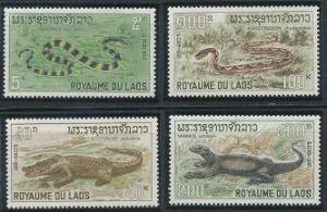 Laos 156-159 MNH (1967)