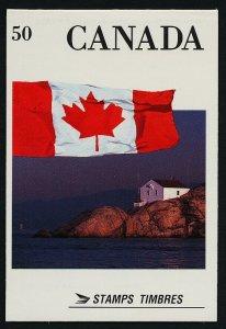 Canada 1190a Booklet BK123 MNH Flag, Lighthouse (sealed)