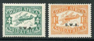 South West Africa SG70b/1b set of 2 M/M Cat 6.75 Pounds