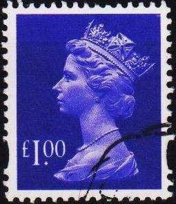Great Britain. Date? £1 Fine Used