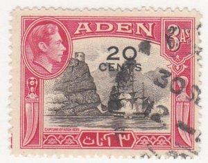 Aden, Sc 39, Used, 1951, Definitive Overprint, (AA000111)