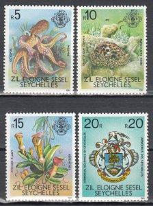 Seychelles, Sc 400-403, MNH, 1997, Sea Life