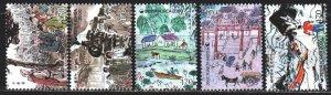 South Korea. 2000. 2105-9. Illustrations for books, dog. MNH.