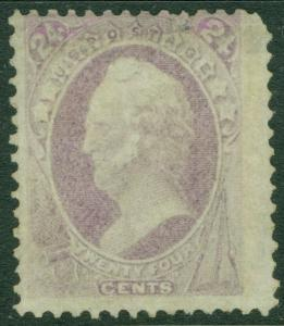 EDW1949SELL : USA 1870 Scott #153 Mint. Regummed. PSAG Certificate. Cat $1,800.