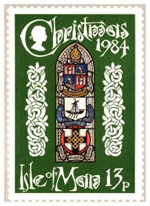 Isle of Man, Government Postal Card
