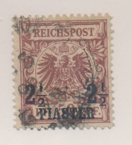 Germany, Offices In Turkey Stamp Scott #12, Used - Free U.S. Shipping, Free W...