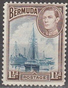 Bermuda #119 F-VF Unused CV $4.75 (S954)
