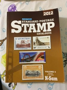 Scott Standard Postage Stamp Catalogue 2012: Volume 5, N-Sam,D