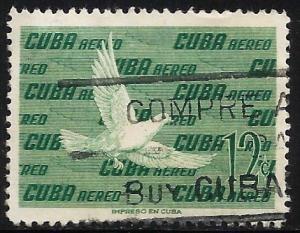 Cuba Air Mail 1960 Scott# C205 Used