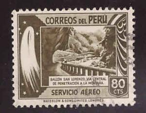 Peru  Scott  C56 used stamp