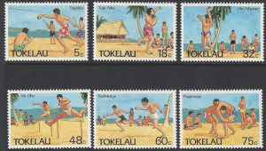 Tokelau #144-9 mint set, Olympic sports, issued 1987