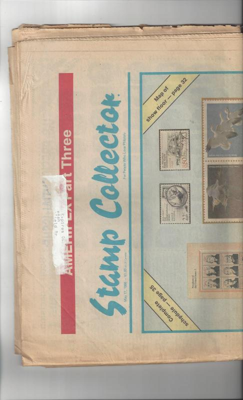Stamp Collector May 17, 1986 AMERIPEX Edition