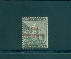 Bechuanaland - Sc# 4. 1885 1/2p. Used. $47.50.