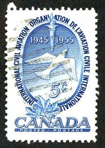 Canada #354 Used