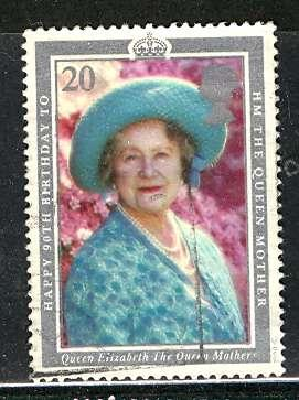 Great Britain; 1990: Sc. # 1327: O/Used Single Stamp