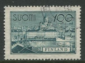 Finland - Scott 240 - South Harbour Helsinki -1942- Used - Single 100m Stamp