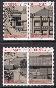 Guernsey 348-351a Europa MNH VF