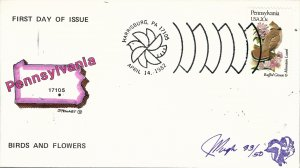Beautiful Pugh Designed and Painted Pennsylvania FDC -only 50 created...