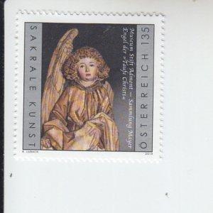 2019 Austria Admont Abbey Museum Angel  (Scott 2802) MNH