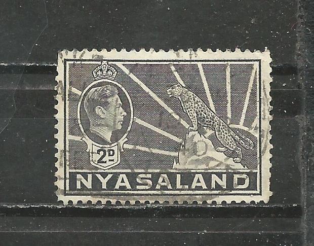Nyasaland Protectorate Scott catalogue # 57