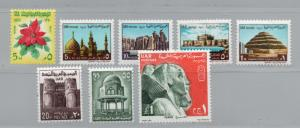 Egypt - Sc# 816 - 823 MLH  -  Lot 1218110