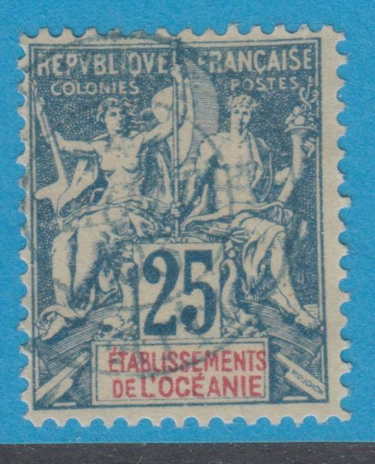 FRENCH COLONIES - FRENCH OCEANIA 12 - NO FAULTS  VERY FINE !