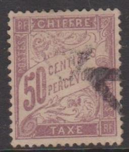 France Sc#J38 Used