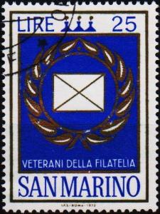 San Marino.1972 25L S.G.950 Fine Used