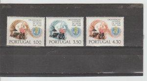 Portugal  Scott#  1025-1027  MNH  (1968 WHO)