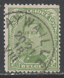 BELGIUM 111 VFU X241-2