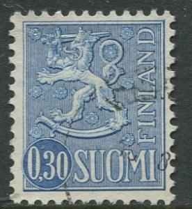 Finland - Scott 404 - Definitives -1963- Used - Single 30p Stamp