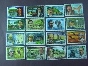 CHRISTMAS ISLAND # 69-84-MINT NEVER/HINGED-COMPLETE SET------1977-78
