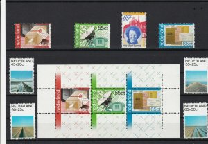 netherlands mint never hinged stamps ref r12801