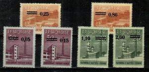 Albania Scott 841-6 Mint NH (Catalog Value $20.00)