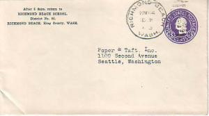 United States, Washington, Postal Stationery