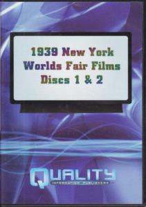 DVD 1939-40 New York World's Fair, 5½ hours.