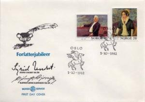 Norway, First Day Cover, Art