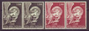 J16194 JLstamps 1968 vatican city set mnh pair #c53-4 archangel