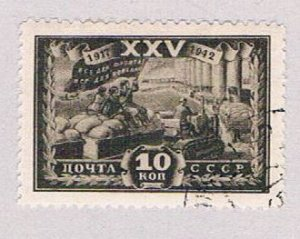 Russia 879 Used Agrigculture 1943 (R1101)