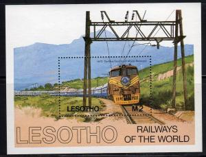 Lesotho 458 - Mint-NH - The Blue Train (cv $2.25)