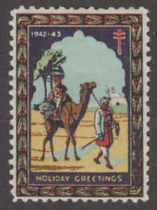 Algeria Christmas Seals 1942